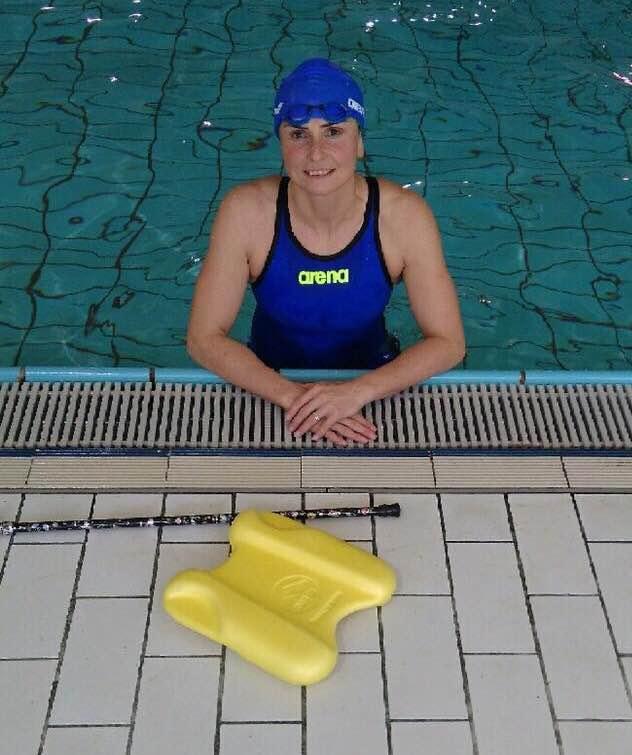 Claire Supiot à la piscine
