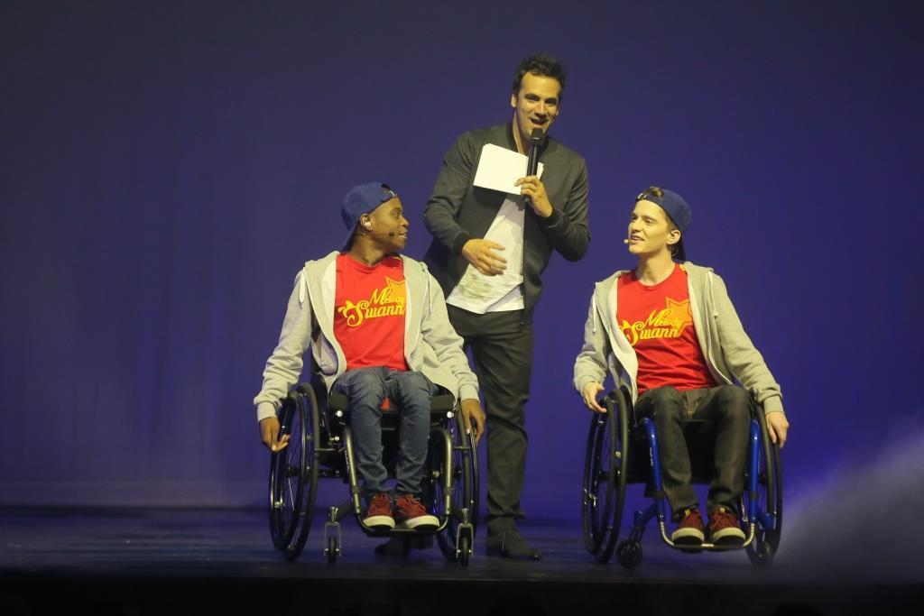 Mathias, Benjamin et Alex Goude