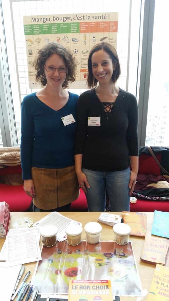 Hélène Seewald et Vanessa Cléaux