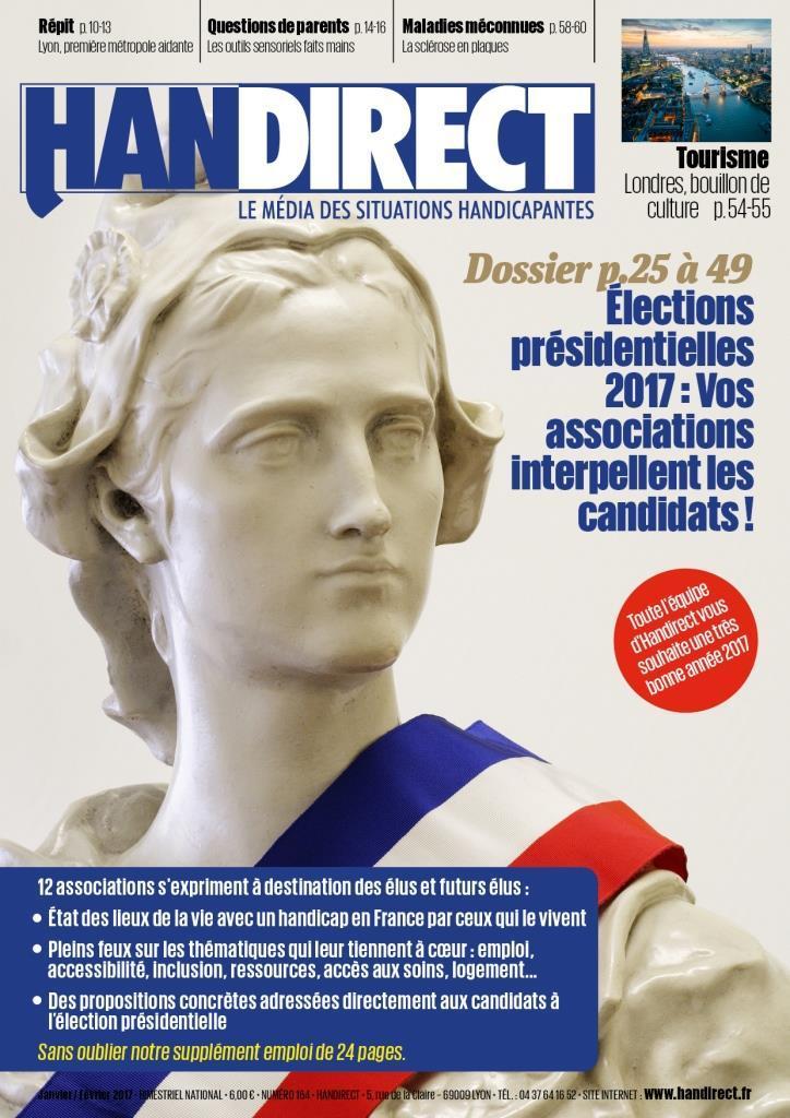 Élection présidentielle 2017 nouveau magazine Handirect