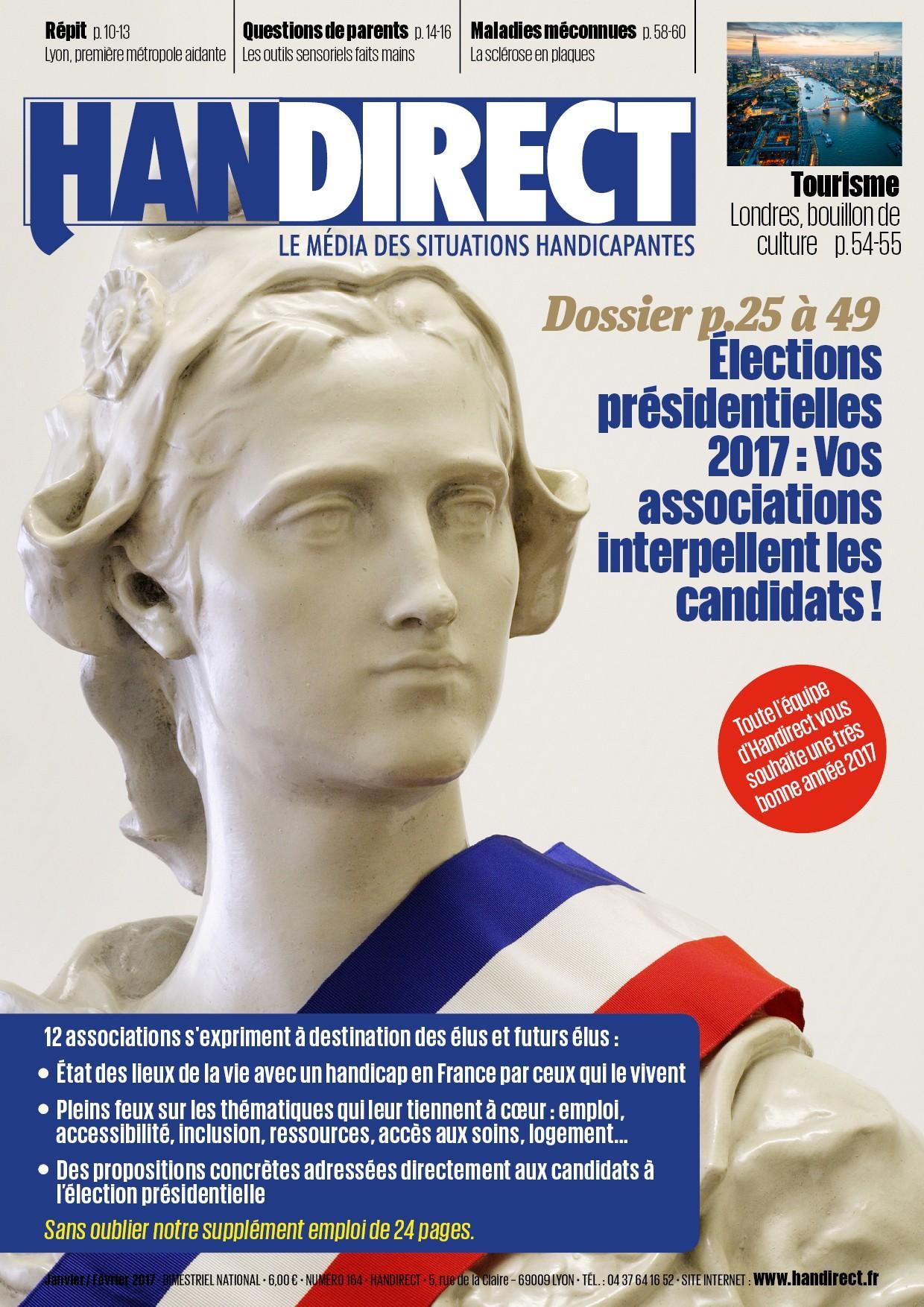 Handirect 164 Élections présidentielles: les attentes des associations