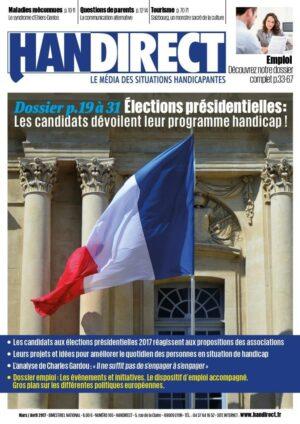 Couverture Handirect 165 élections et handicap