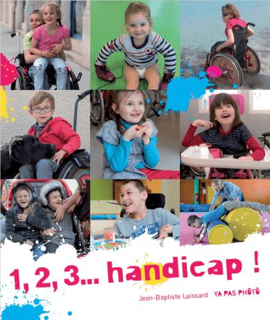 Ouvrage photographique sur le handicap 1, 2, 3, handicap