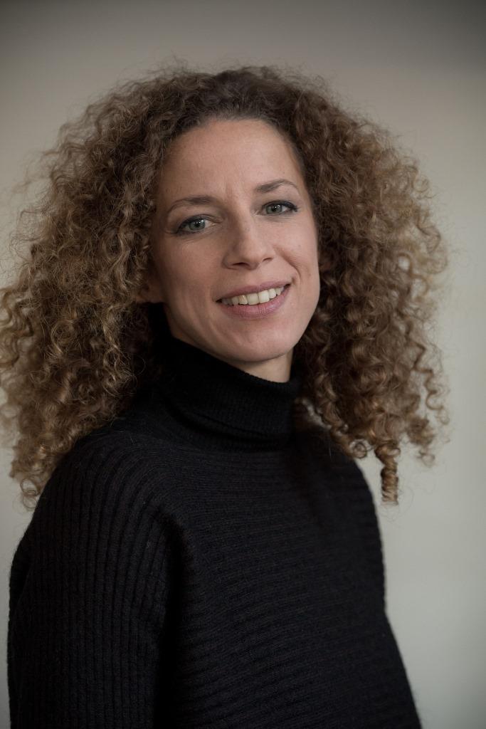 Charlotte Girard, co-responsable du programme de la France insoumise