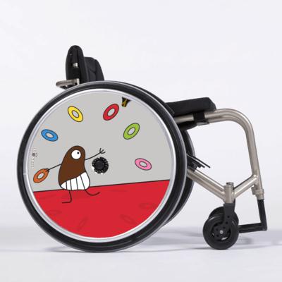 Personnalisation de fauteuils Showheel
