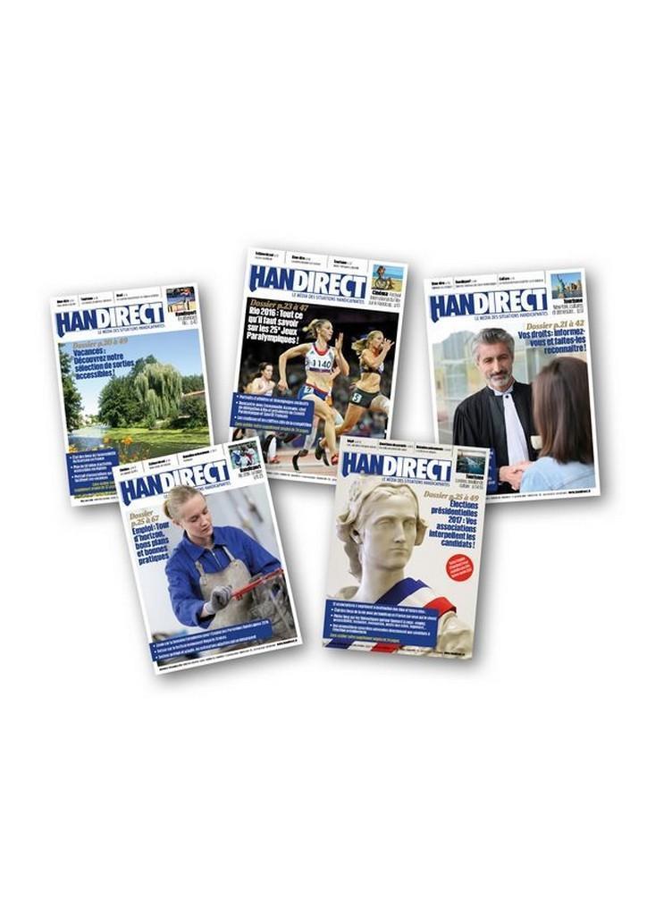 Abonnement aux magazines Handirect