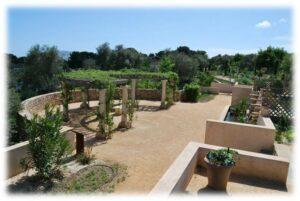 Le jardin antique méditerranéen de Balaruc-les-Bains