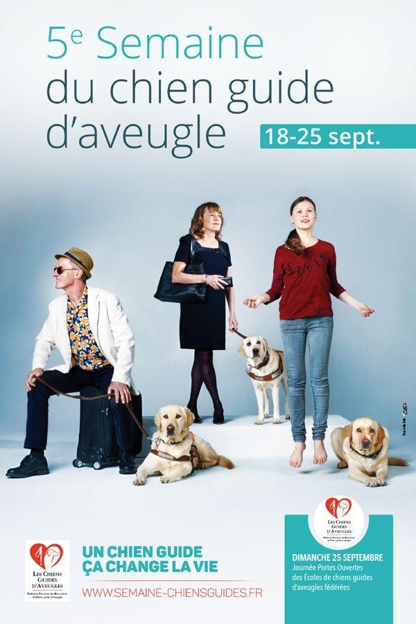 Semaine nationale chien guide 2017