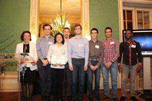 Numérique et handicap : Les étudiants du projet Listen and Warn