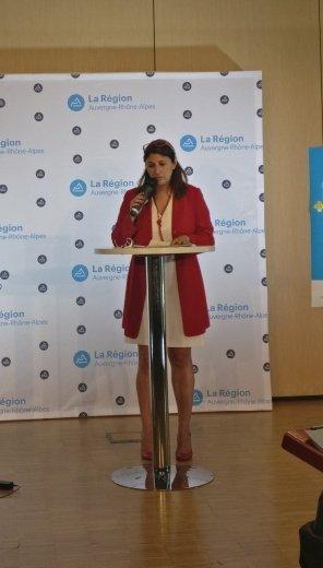 Sandrine Chaix adjointe de Laurent Wauqiez