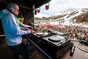 Festival ski et électro Gliss et Mix