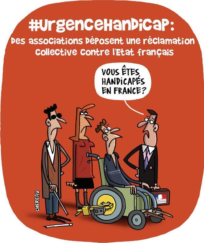 Handicap en France une réclamation collective contre l'État Français Urgence handicap