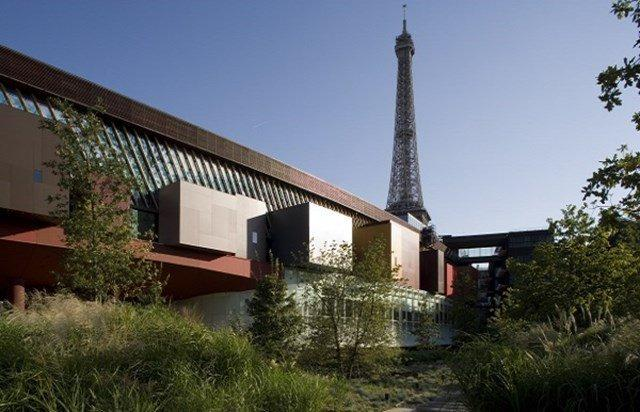 Vue du musée du Quai Branly