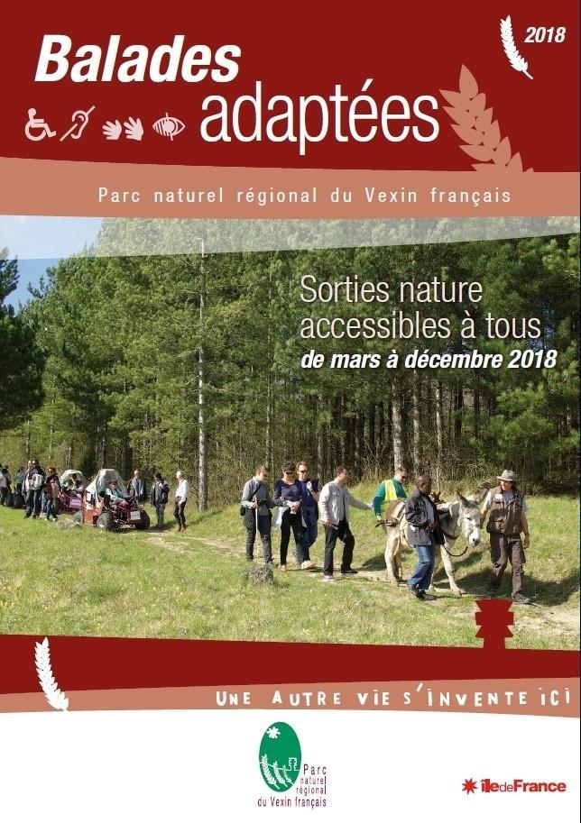 Balades accessibles dans le parc naturel du Vexin français