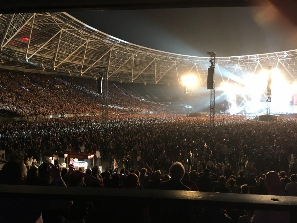 Le concert des Rolling Stones au London Stadium vu depuis ma place © Jean-Christophe Verro