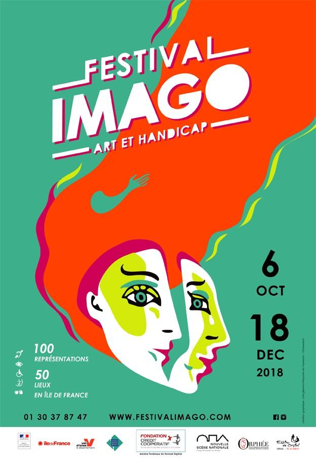Affiche du Festival Imago Art et Handicap