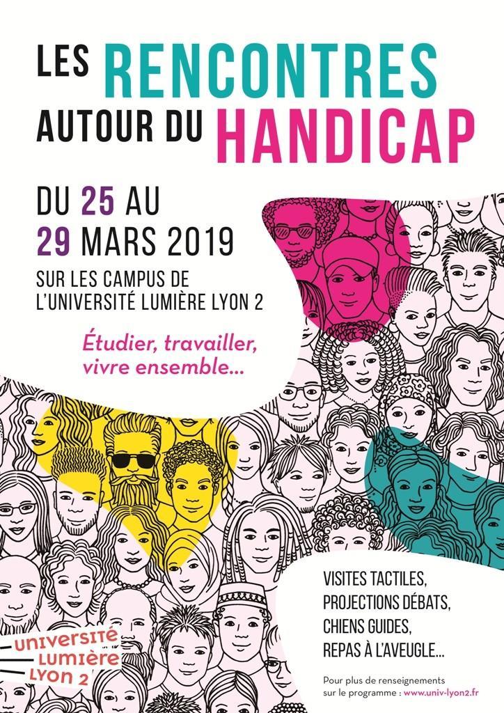 Rencontres autour du handicap : rendez-vous du 25 au 29 mars 2019