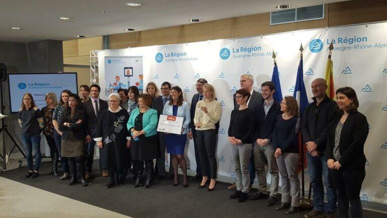 La Région AURA reçoit le prix de l'Innovation territoriale