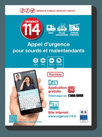 Urgence 114 : une application en appui du numéro d'urgence
