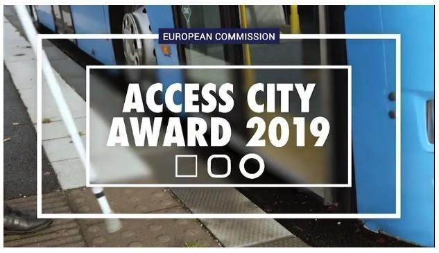 La ville d'Évreux primée lors des Access City Awards 2019
