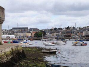 Concarneau depuis la ville close - Bretagne