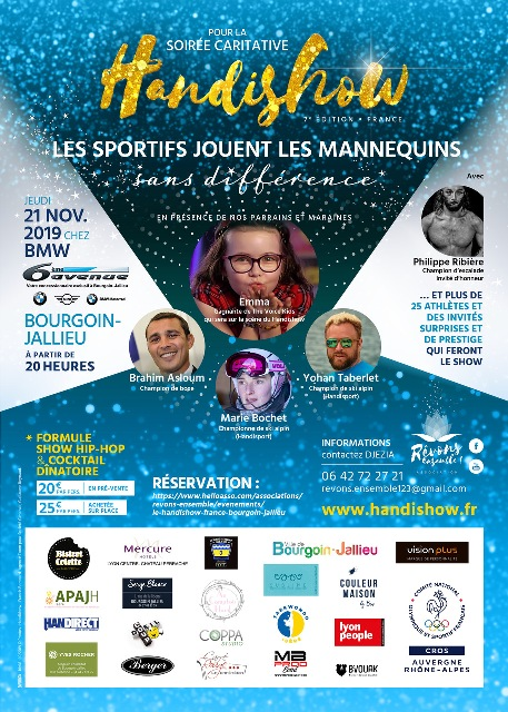 HANDISHOW Bourgoin-Jallieu 21 novembre 2019