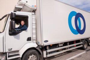 camion de la société STEF