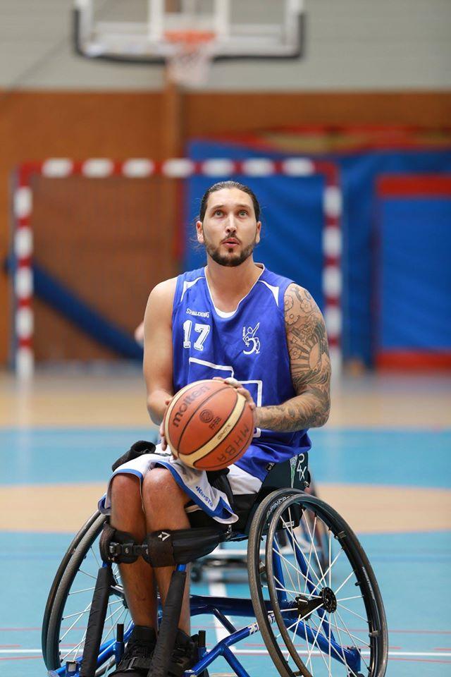 Adrien Dusch - Basket et handicap