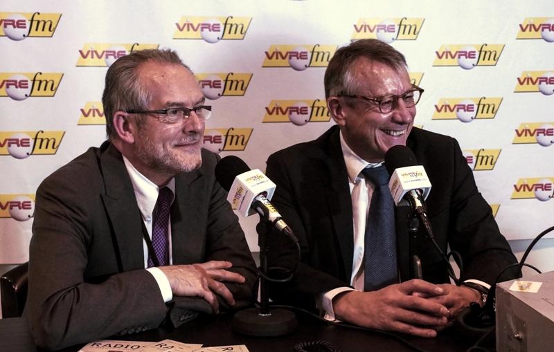 Patrick Le Bras et Jean-Raphaël Notton dirigeants des salons Autonomic
