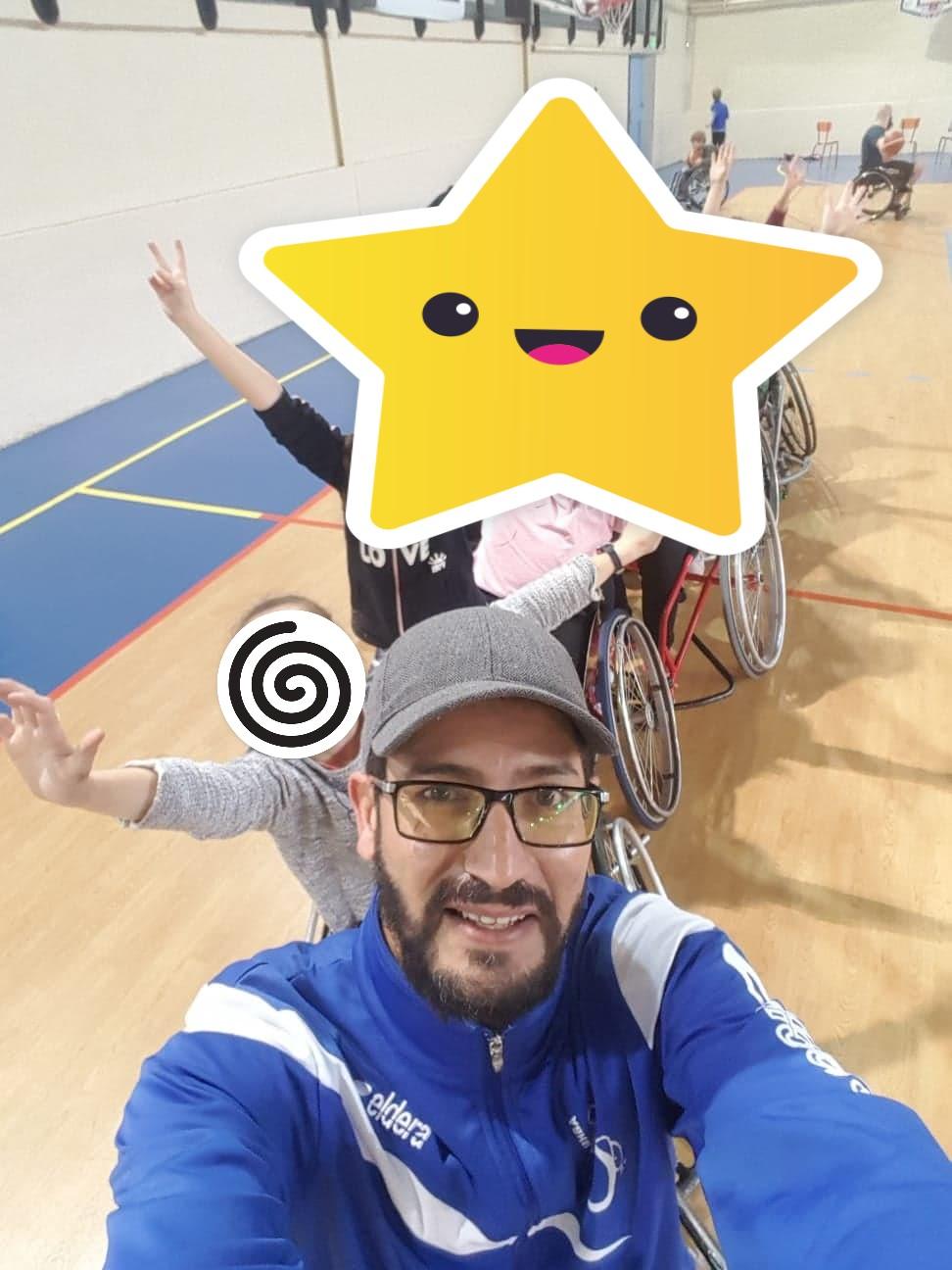Touafiq Regragui - Basket et handicap