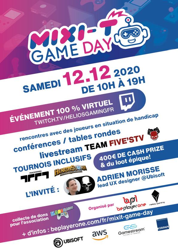 jeux vidéo et handicap MIXIT day
