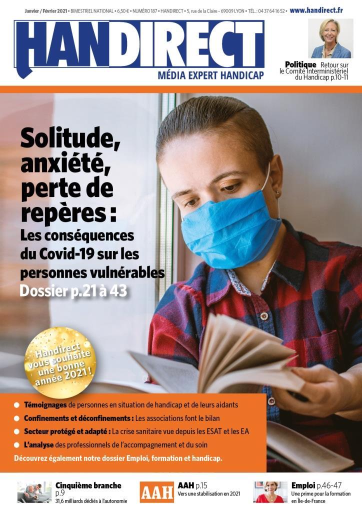 Handirect 187 - Janvier-février 2021 : Équilibre, santé mentale et Covid-19
