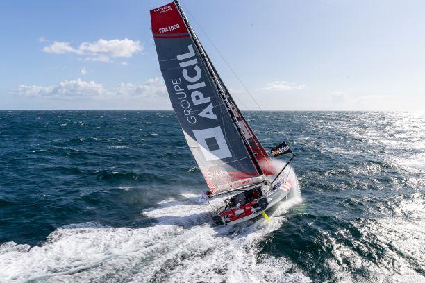 Le bateau de Damien Seguin sur le Vendée Globe 2020